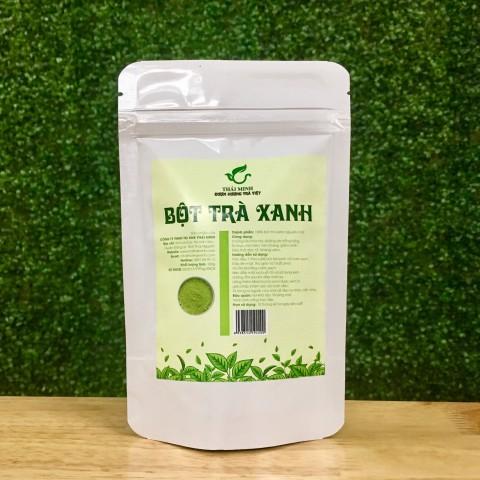 Bột trà xanh dưỡng da 100g
